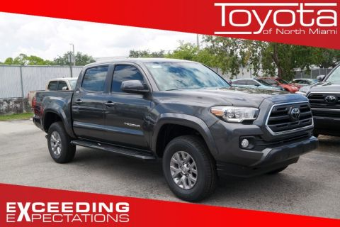 New 2018 Toyota Tacoma SR5 Double Cab 5' Bed V6 4x2 AT
