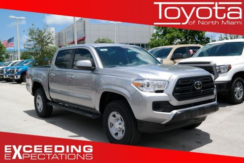 New 2018 Toyota Tacoma SR Double Cab 5' Bed I4 4x2 AT