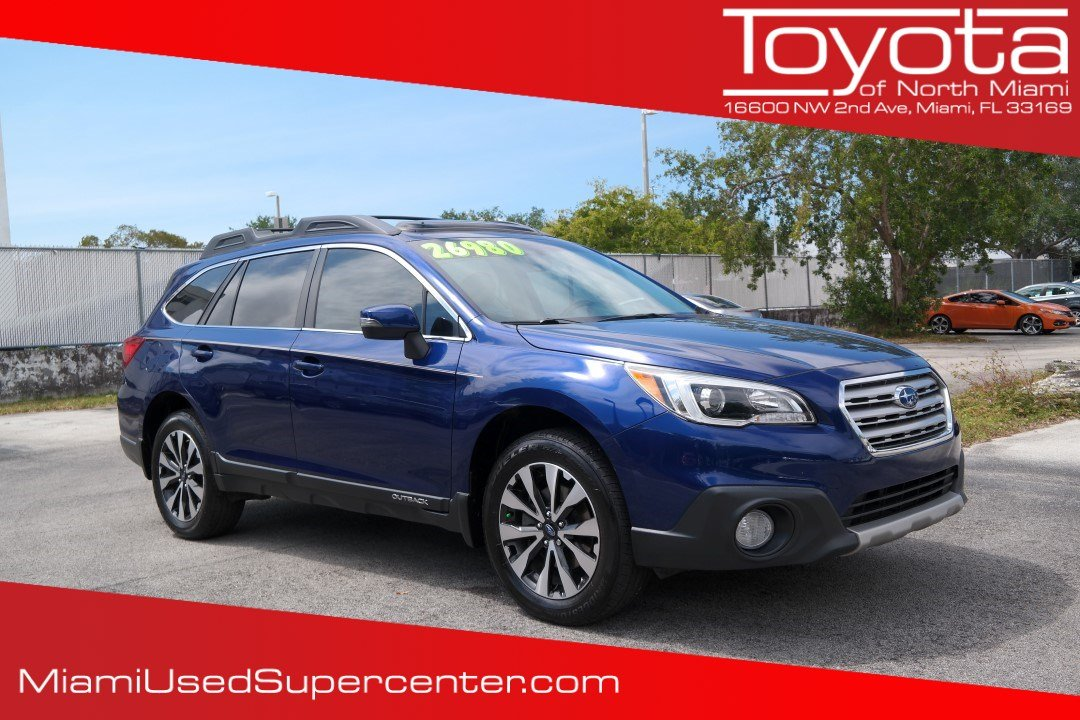 Pre Owned 2015 Subaru Outback 2 5i Sport Utility in Miami H A