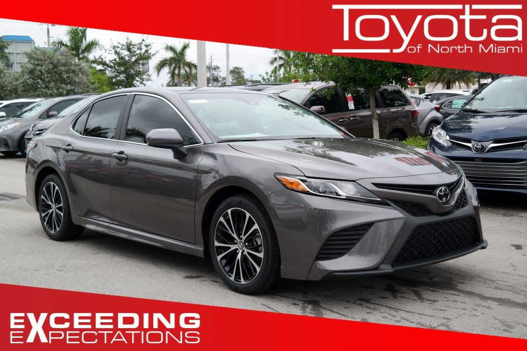 New 2019 Toyota Camry Se 4dr Car In Miami M163299 Toyota Of North