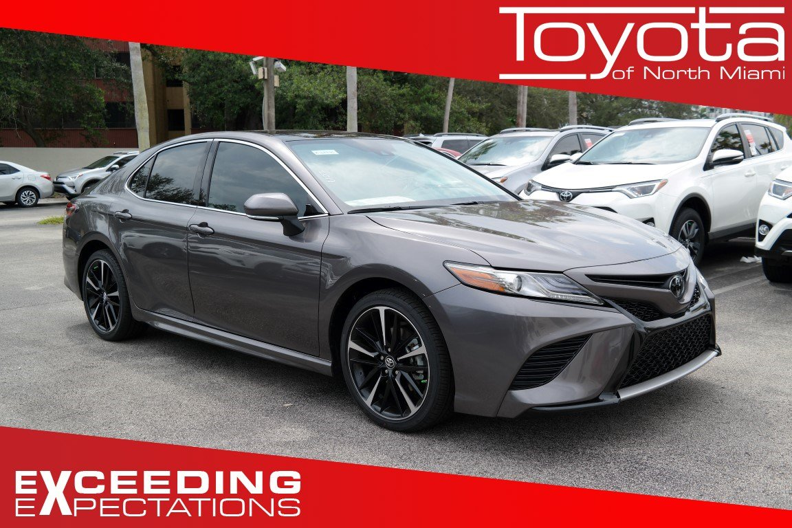New 2019 Toyota Camry Xse Auto 4dr Car In Miami M169990 Toyota Of