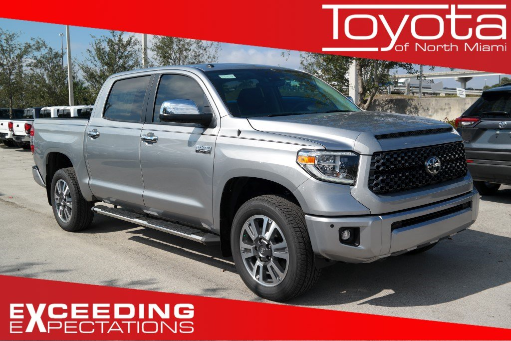 New 2019 Toyota Tundra Platinum CrewMax 5.5' Bed 5.7L