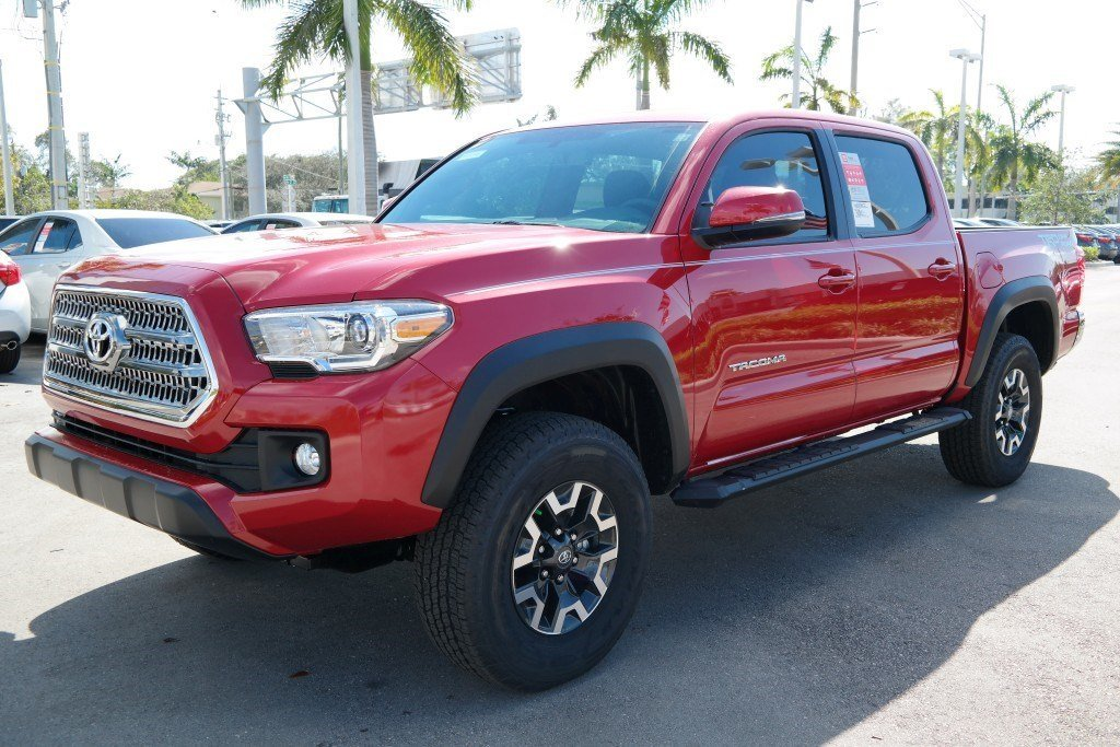 New Toyota Tacoma >> New 2017 Toyota Tacoma Trd Off Road Double Cab 5 Bed V6 4x2 At