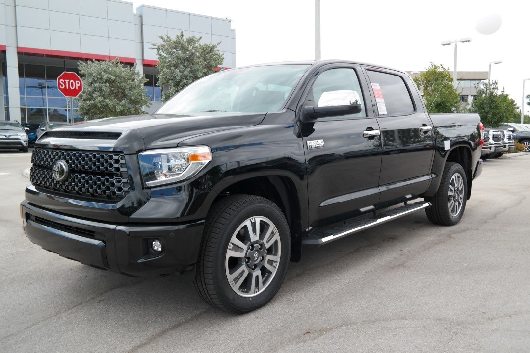 new 2018 toyota tundra platinum crewmax 5 5 bed 5 7l crewmax in
