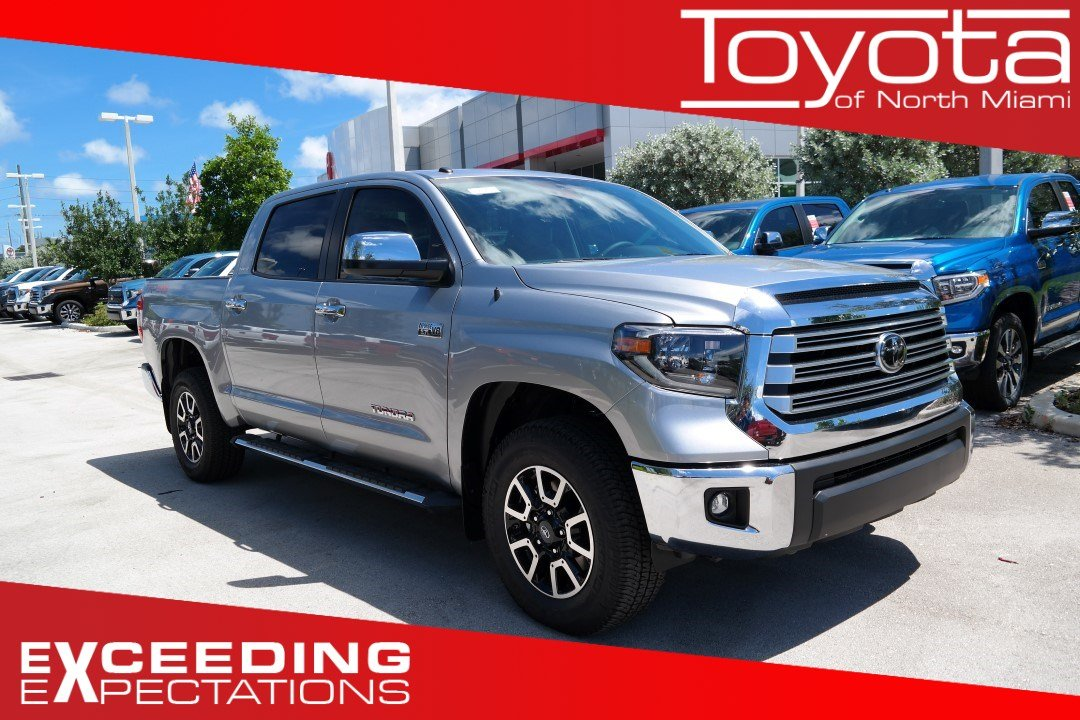 New 2019 Toyota Tundra Limited Crewmax 5 5 Bed 5 7l Crewmax In