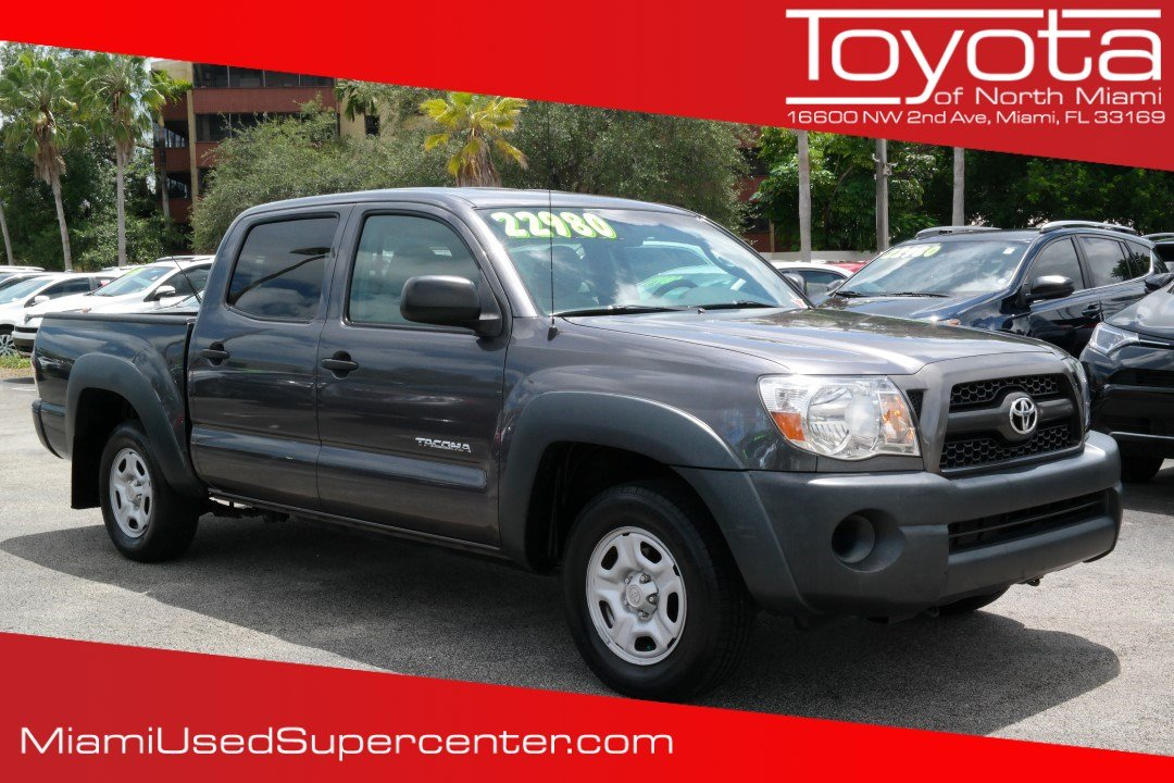Pre Owned 2011 Toyota Tacoma Base Crew Cab Pickup In Miami H857016a