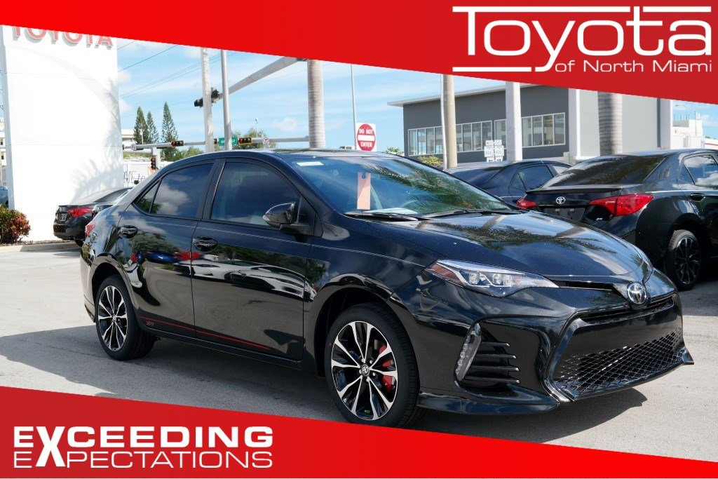 New 2019 Toyota Corolla Se Cvt 4dr Car In Miami C902041 Toyota Of