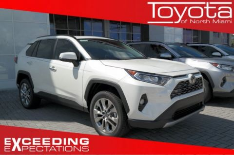 New 2019 Toyota RAV4 Limited FWD