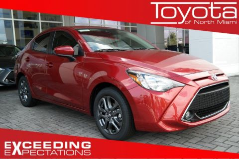 New 2019 Toyota Yaris Sedan 4-Door LE Auto