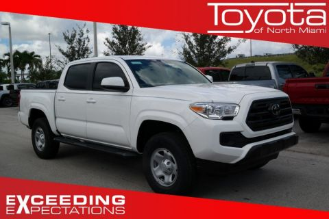 New 2019 Toyota Tacoma SR Double Cab 5' Bed I4 AT